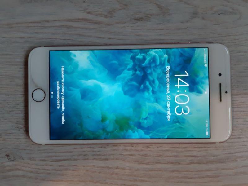 IPhone 7 Plus 128 gb Rose Gold - Фото 4