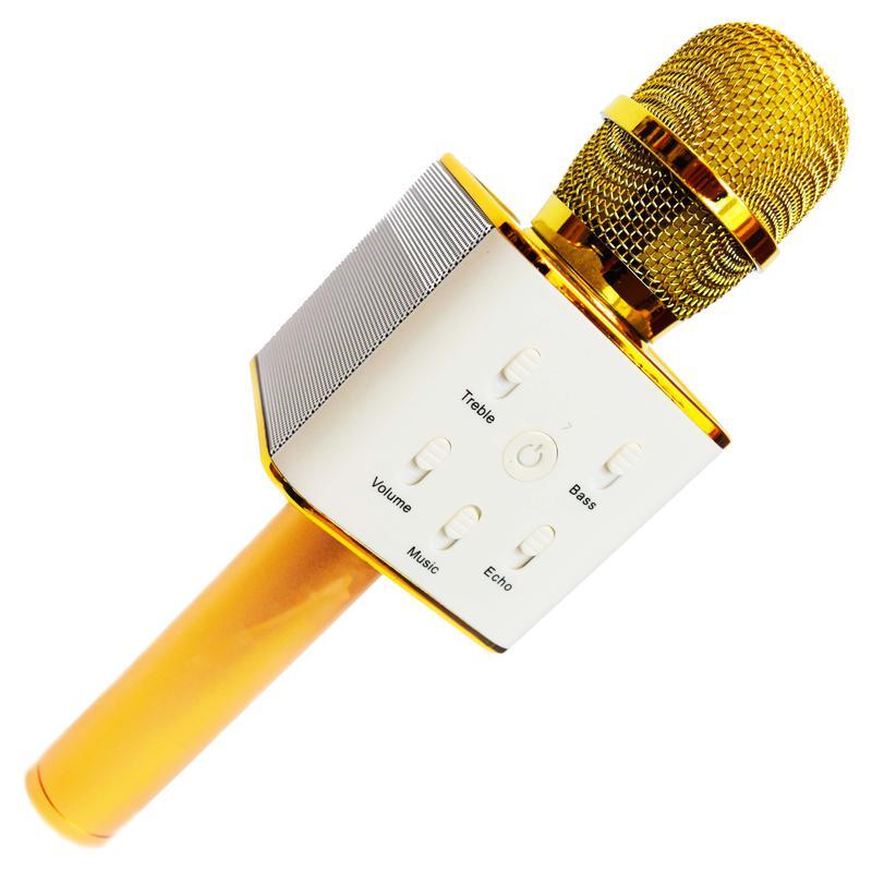 Караоке микрофон стерео колонка WSTER Q7