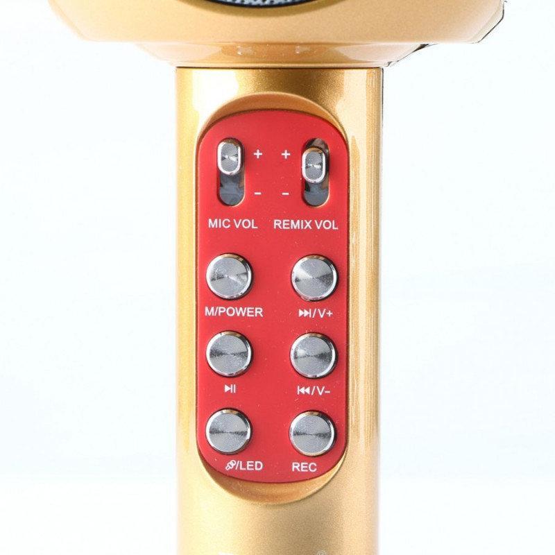 Оригинальный караоке микрофон WSTER WS-1816 - Фото 4