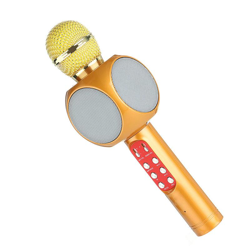 Оригинальный караоке микрофон WSTER WS-1816 - Фото 9
