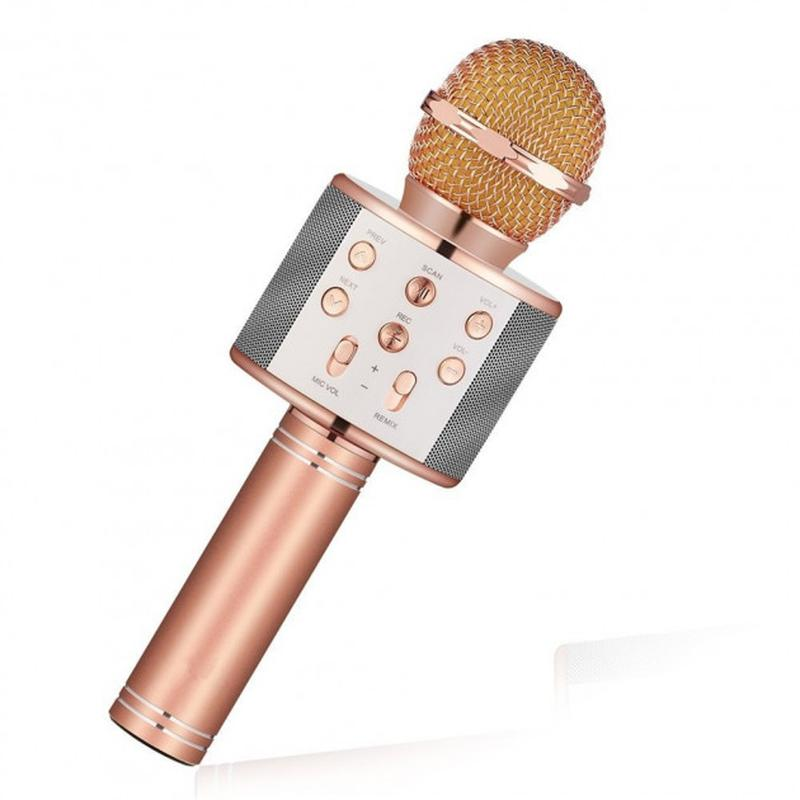 Микрофон Караоке Wester WS-858 - Фото 3
