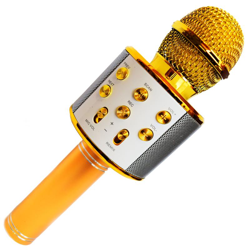 Микрофон Караоке Wester WS-858 - Фото 8