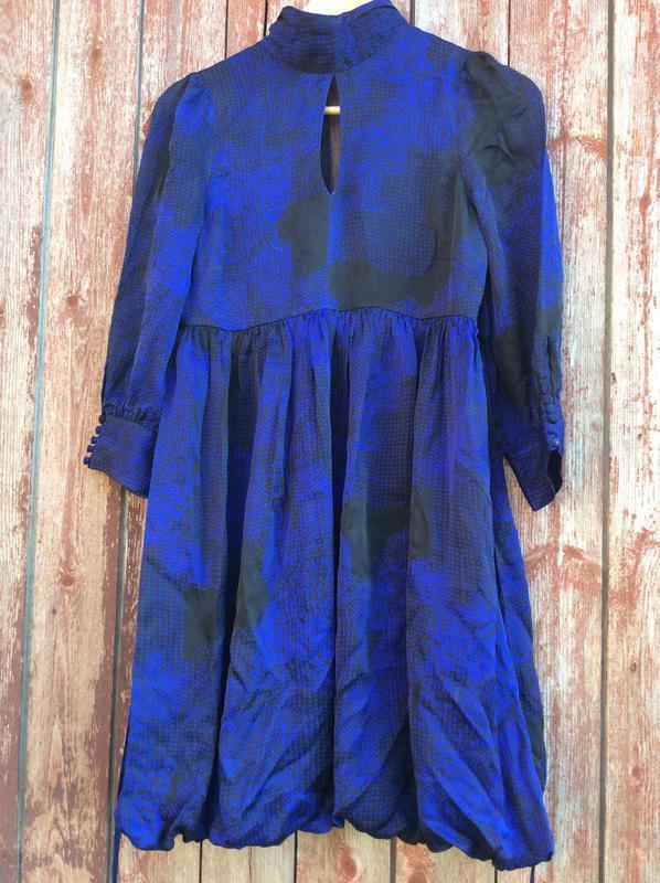 Платье шёлковое, боченочком