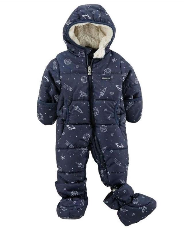 Зимний комбинезон Oshkosh B 'Gosh (США) для мальчика или девочки