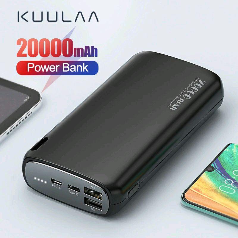 KUULAA Power Bank(внешний аккумулятор) 20000mAh.