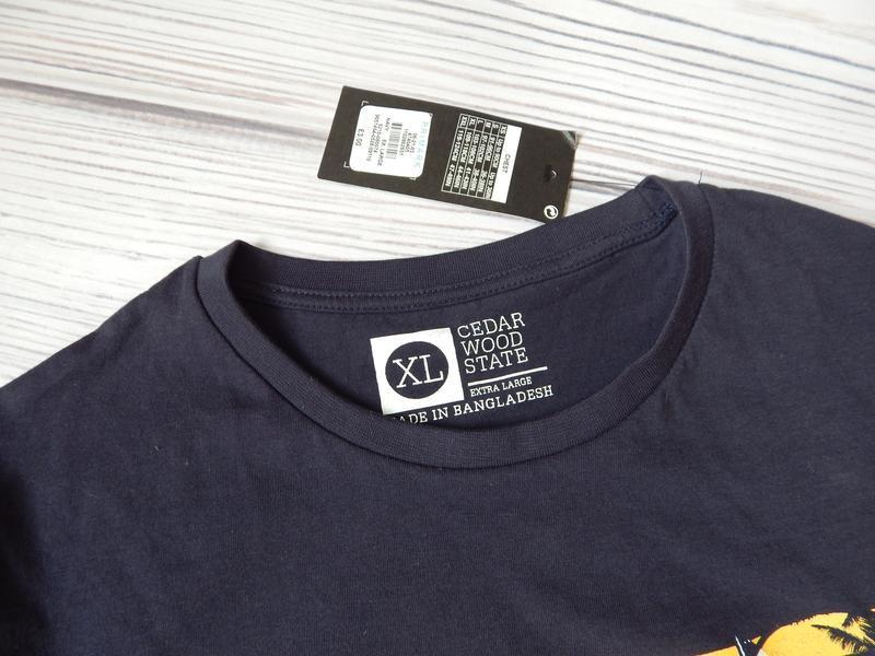 Обалденная мужская футболка от cedarwood state. размер xl. - Фото 3