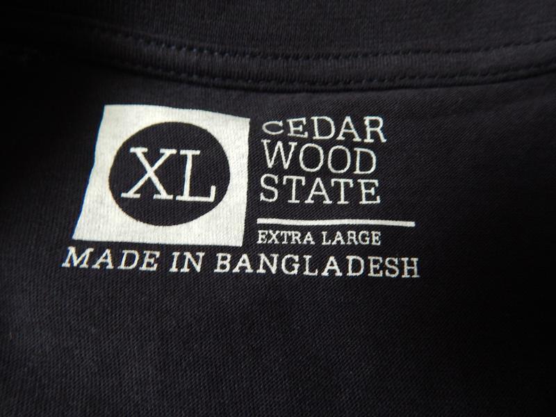 Обалденная мужская футболка от cedarwood state. размер xl. - Фото 4
