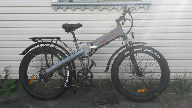 Электровелосипед фетбайк складной електро велосипед