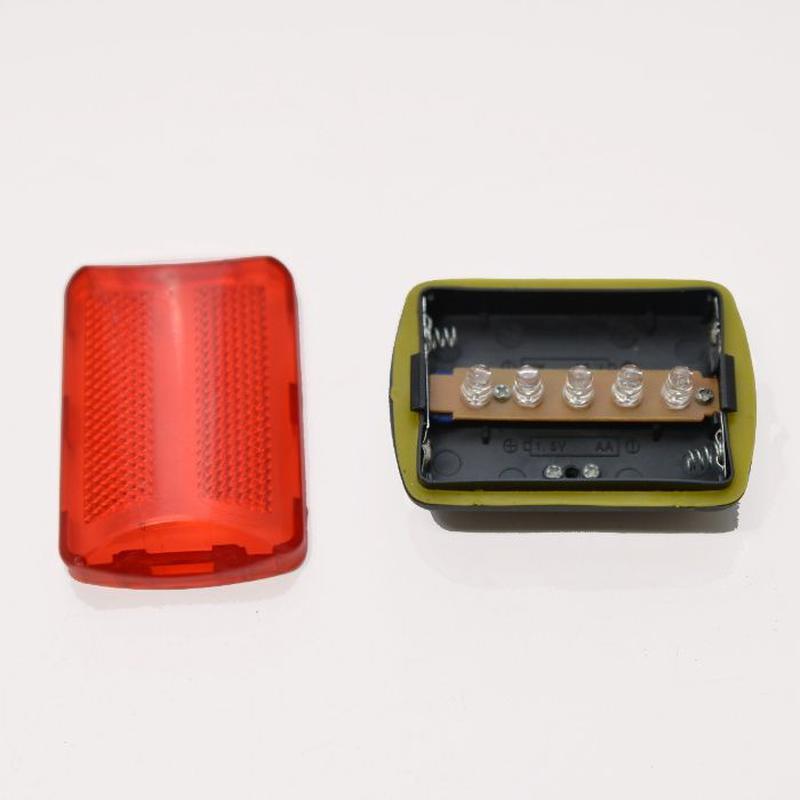Задняя мигалка/фонарь/свет для велосипеда. Красный габарит для...