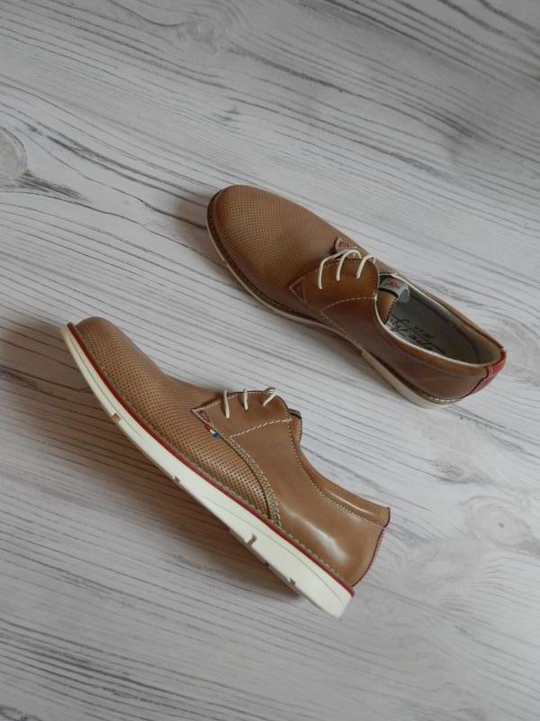 Обалденные мужские туфли с натуральной кожи от pepe agullo. ра...