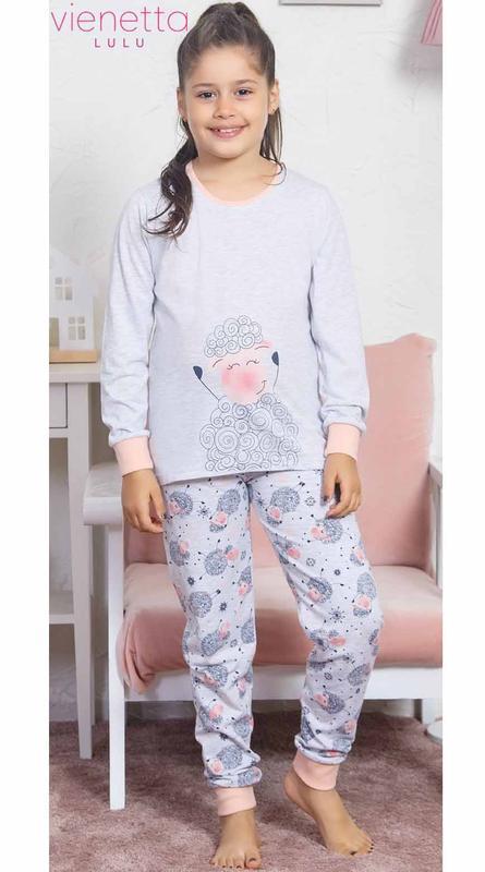 Пижамы для девочек vienetta secret от 7 до 10 лет