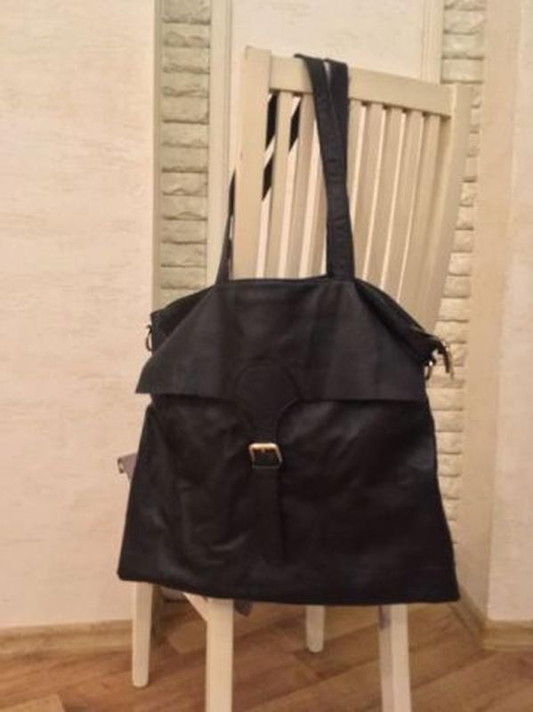Сумка новая кожаная сумочка женская - Фото 3