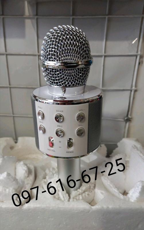 Беспроводной Bluetooth Караоке микрофон WS-858 - Фото 11