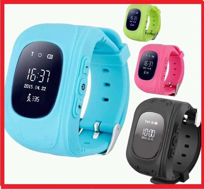 Детские умные часы Q50 с GPS трекером