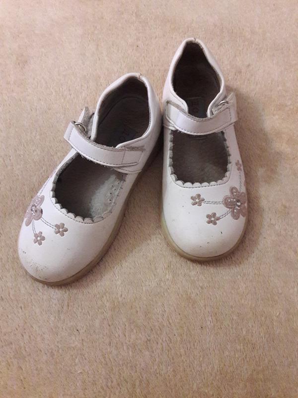 Туфли туфельки кожаные