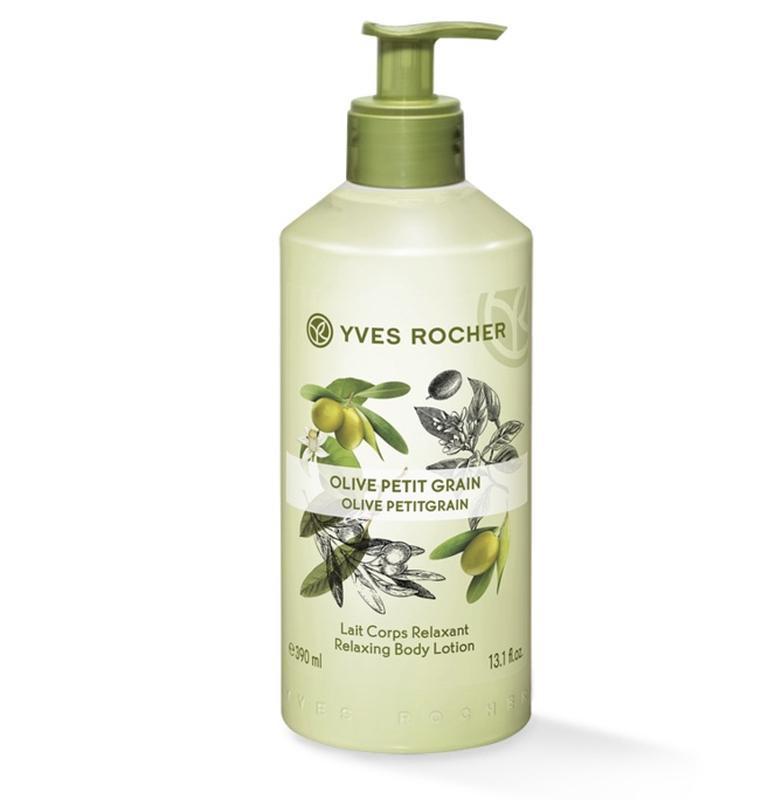 Молочко для тела олива – петигрейн yves rocher ив роше olive p...