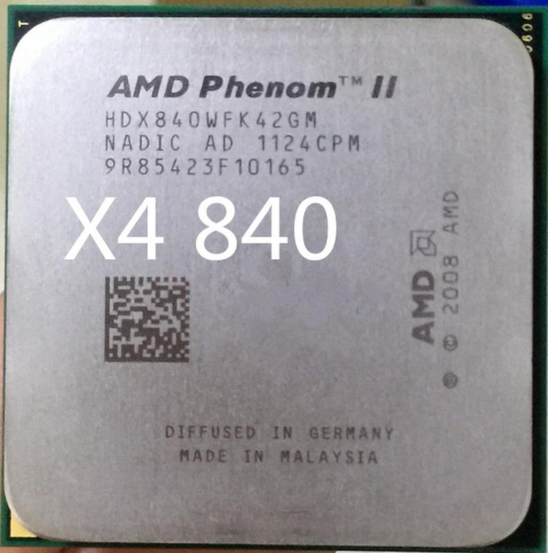 AMD Phenom II X4 840 3200mhz s.AM2+/AM3 Процессор