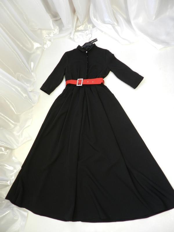 ⛔✅ шикарное платье в пол с карманами