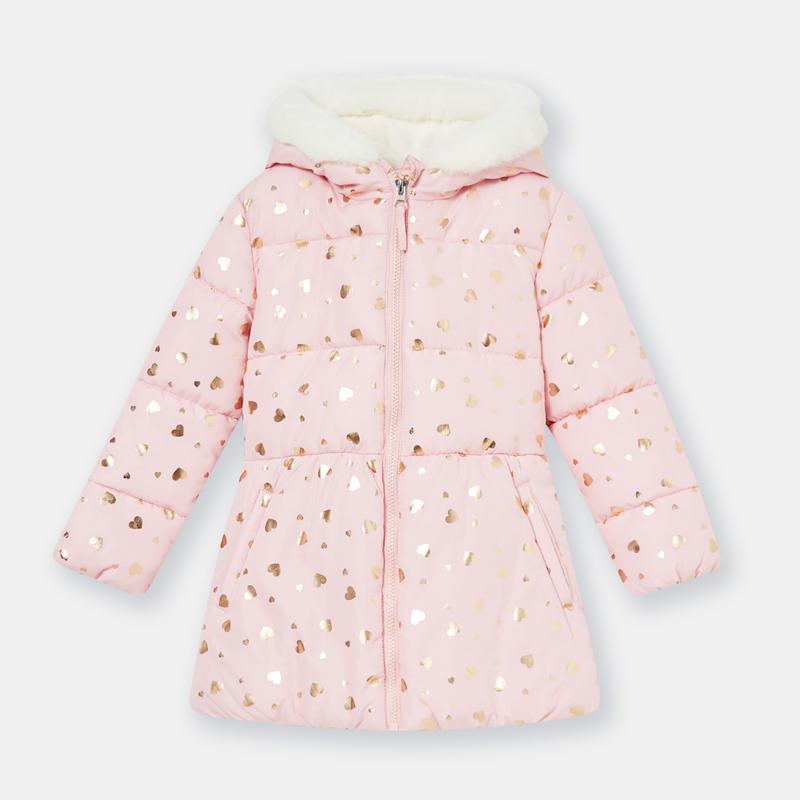 Куртка для девочки fox&banny 116 розовая