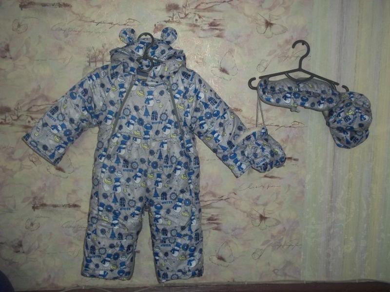 Продам комбинезон,куртка,парка,жилетка осень-зима от 0 до 2 лет