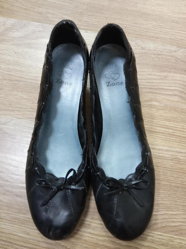 Распродажа! брендовые, удобные, мягкие туфли на маленьком кабл...