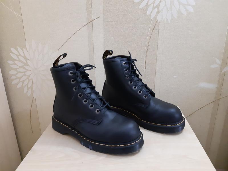 Мужские ботинки dr. martens industrial steel toe оригинал разм...