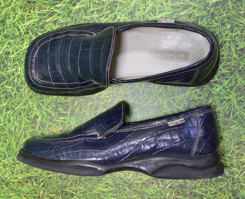 Esprit германия оригинал 100% натурал кожа! туфли мокасины пов... - Фото 5