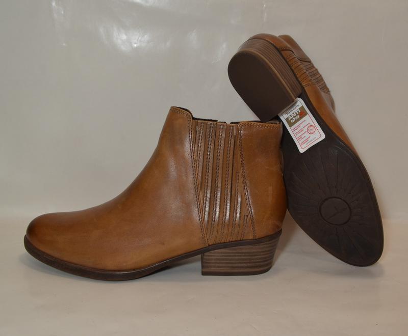 Германия tamaris 100% натуральная кожа! ботинки туфли повыш ко... - Фото 2