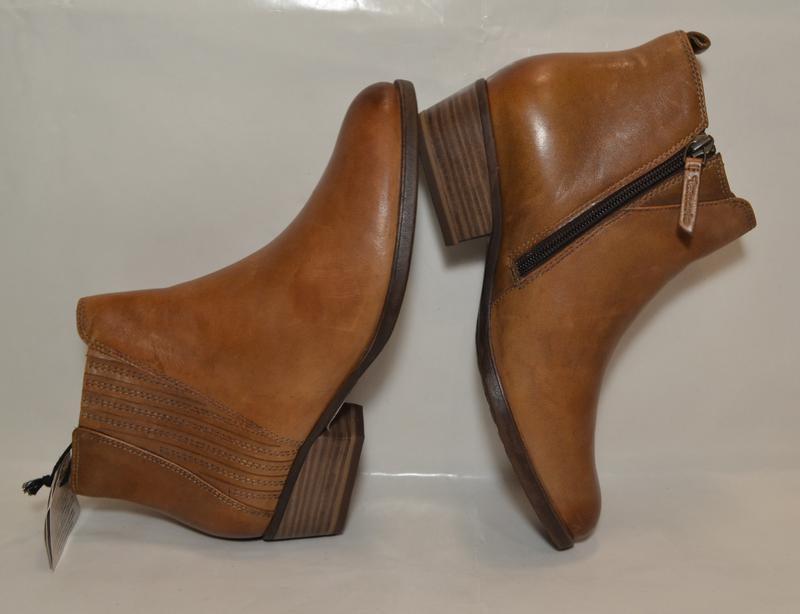 Германия tamaris 100% натуральная кожа! ботинки туфли повыш ко... - Фото 4