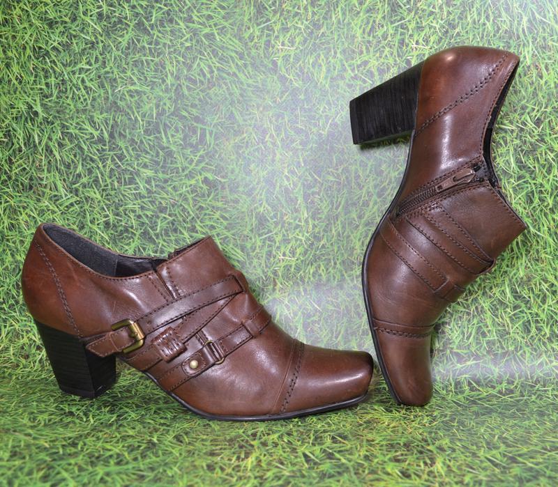 Janet d германия, оригинал! качественные туфли / ботильоны пов... - Фото 3