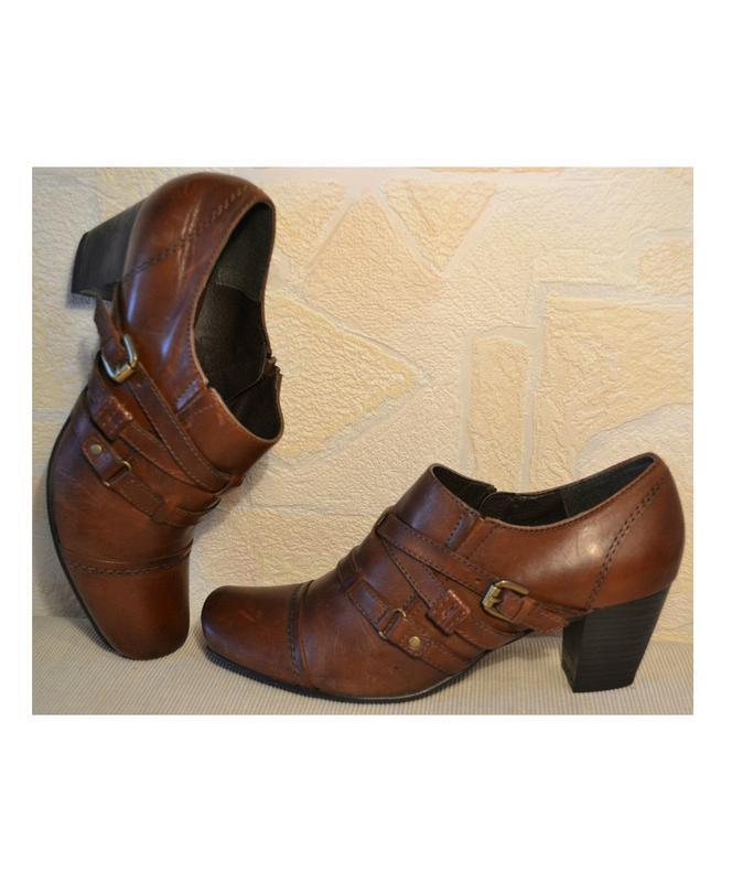 Janet d германия, оригинал! качественные туфли / ботильоны пов... - Фото 4