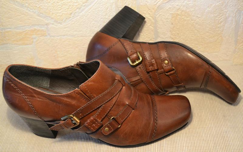 Janet d германия, оригинал! качественные туфли / ботильоны пов... - Фото 6