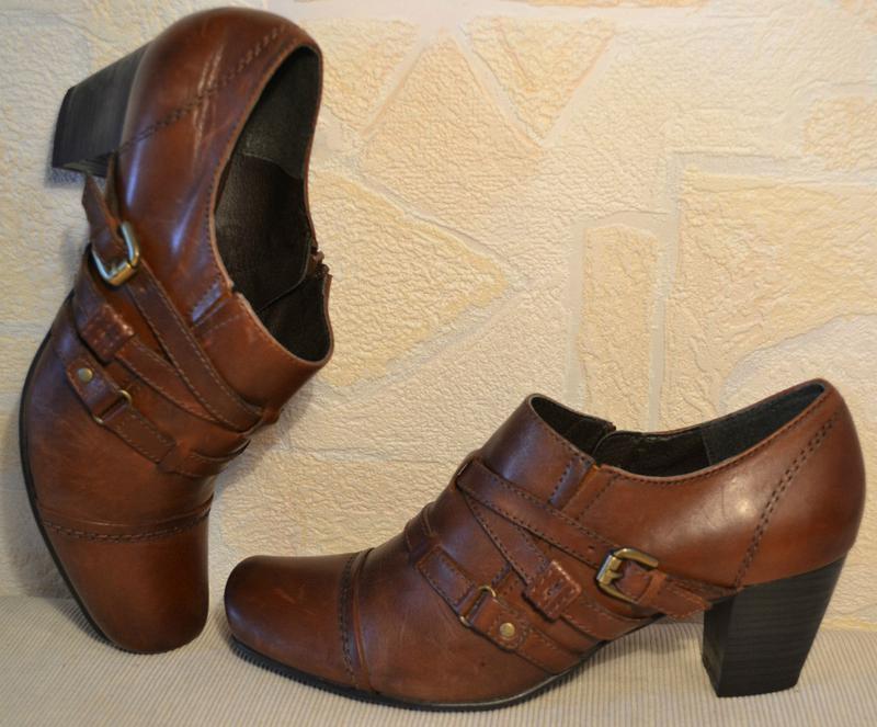 Janet d германия, оригинал! качественные туфли / ботильоны пов... - Фото 8