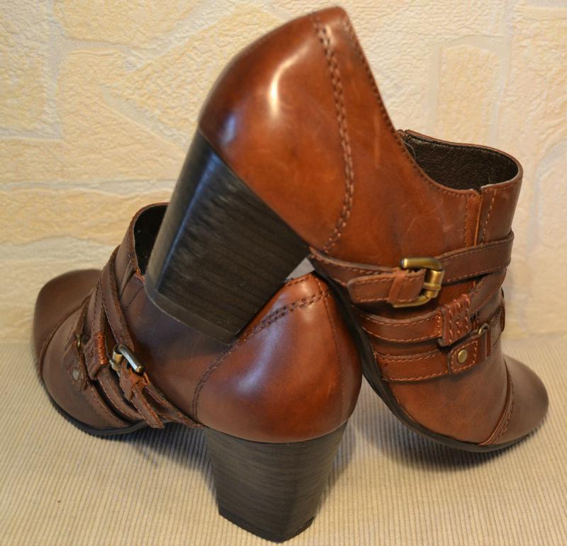 Janet d германия, оригинал! качественные туфли / ботильоны пов... - Фото 9