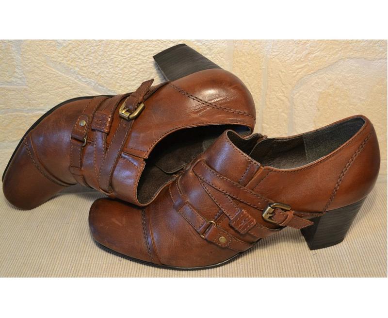 Janet d германия, оригинал! качественные туфли / ботильоны пов... - Фото 10