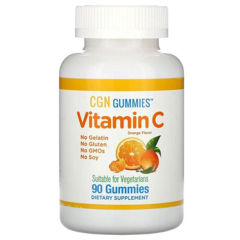 California Gold Nutrition желейки для детей с витамином C, 90 ...