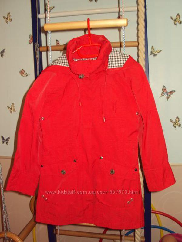 Ветровка-плащ рост 104-120см,Польша,куртка. курточка