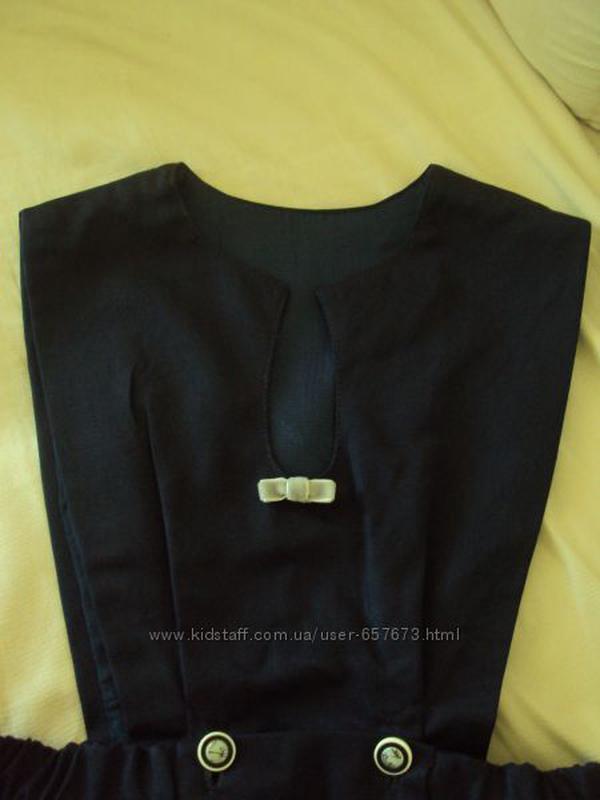 Сарафан школьный шерсть- 95%,п/э-5%,юбка