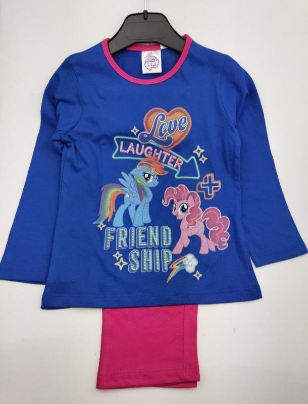 Детская пижама на девочку disney пони