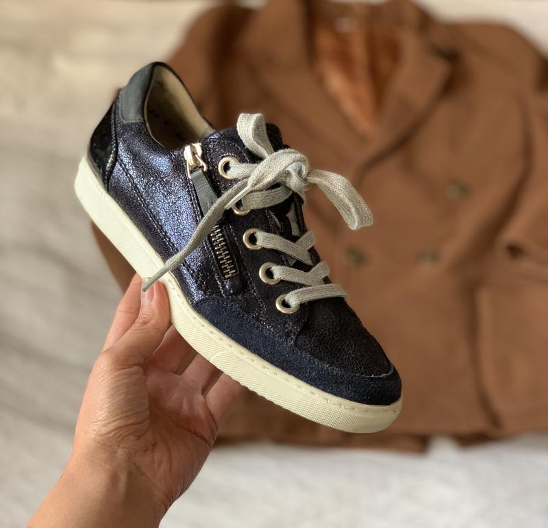 Кожаные кроссовки/ кеды шикарного качества