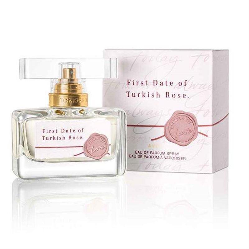 Парфюмерная вода first date of turkish rose avon! 30 мл