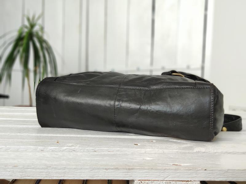 F&f 100% оригинальная кожаная сумка. - Фото 6