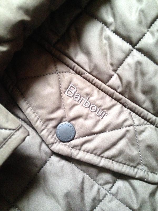 Куртка мужская barbour - Фото 3