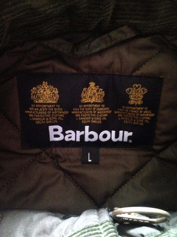 Куртка мужская barbour - Фото 4