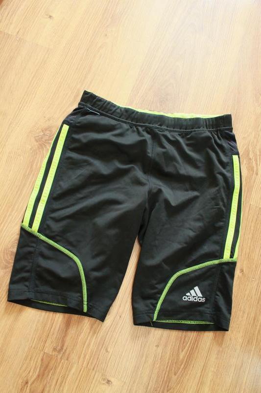 Замечательные мужские беговые шорты adidas response short tights