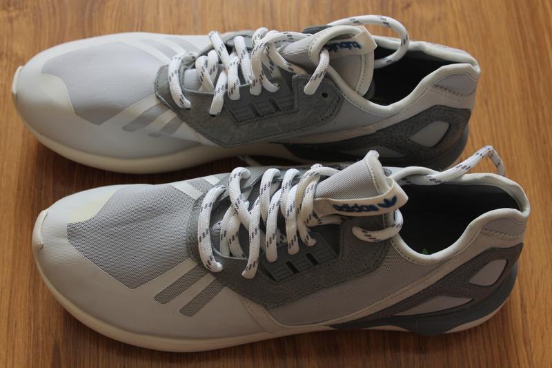 Adidas originals  мужские кроссовки  tubular runner white прев...