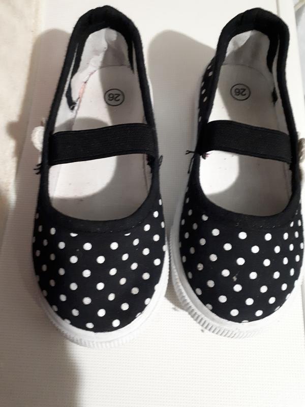 Goedgemerkt текстильные балетки туфли слипоны тапочки для дево... - Фото 2