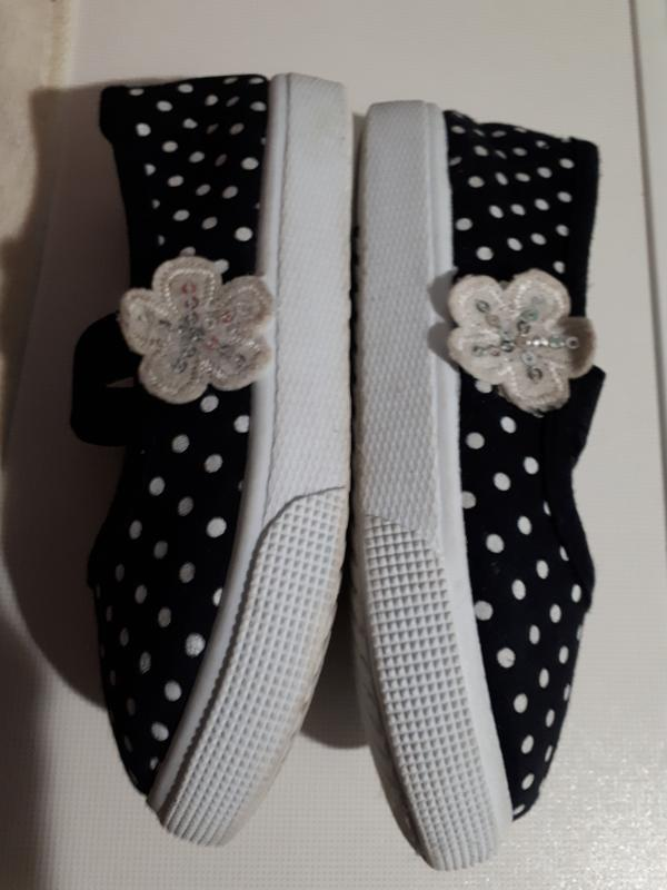 Goedgemerkt текстильные балетки туфли слипоны тапочки для дево... - Фото 4