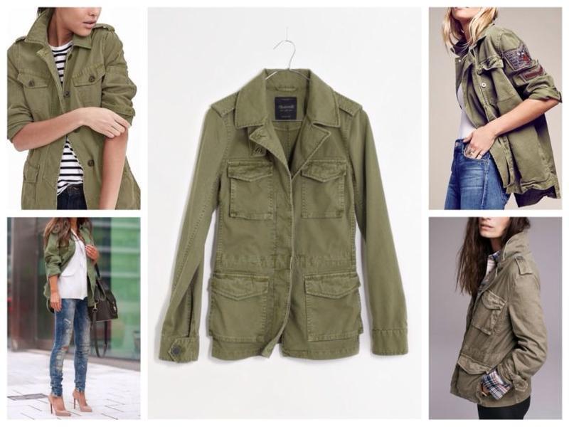 Xanaka женская джинсовая куртка ветровка хаки милитари демтсез...