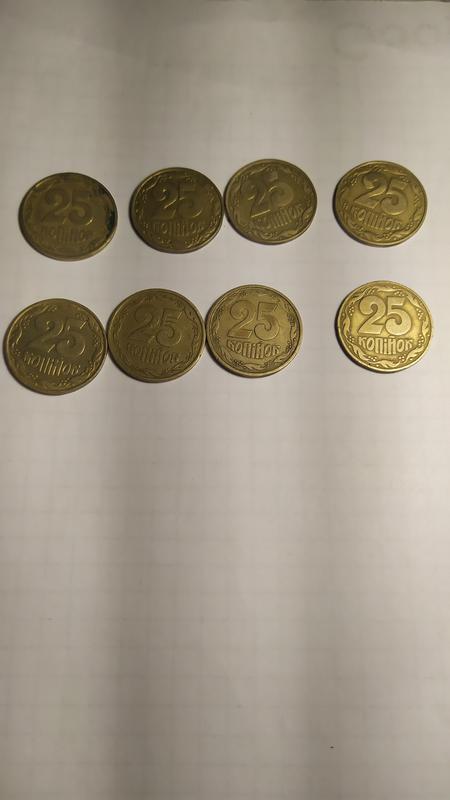 Монеты  25 коп 1992 (1994)
